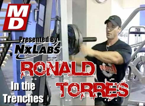 In the Trenches with Ronald Torres Two Weeks from Nationals