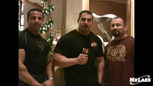 Hany, Marc, and George after the 2009 Nationals Weigh Ins