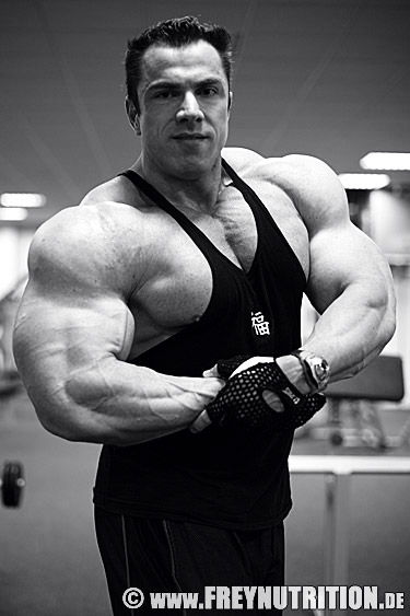 Andreas Frey - shoulders & triceps training