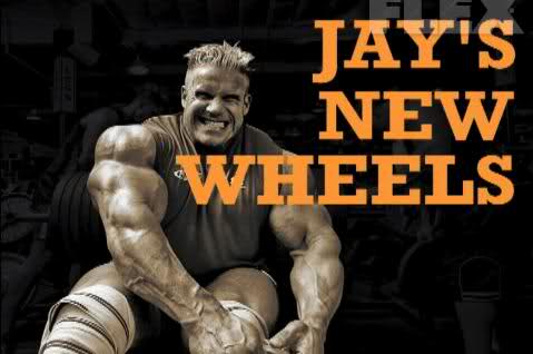 Jay Cutler's - New Wheels