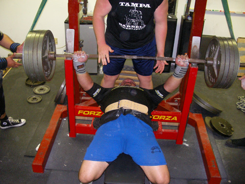 Rodney Roller - Bench press tips
