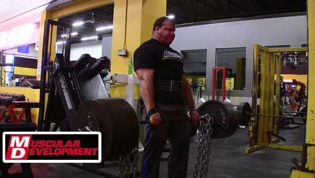 Derek Poundstone & Evan Centopani deadlifts