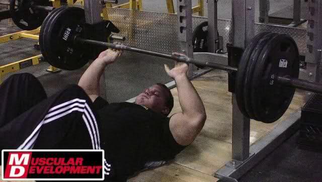 Evan Centopani & Derek Poundstone training pics