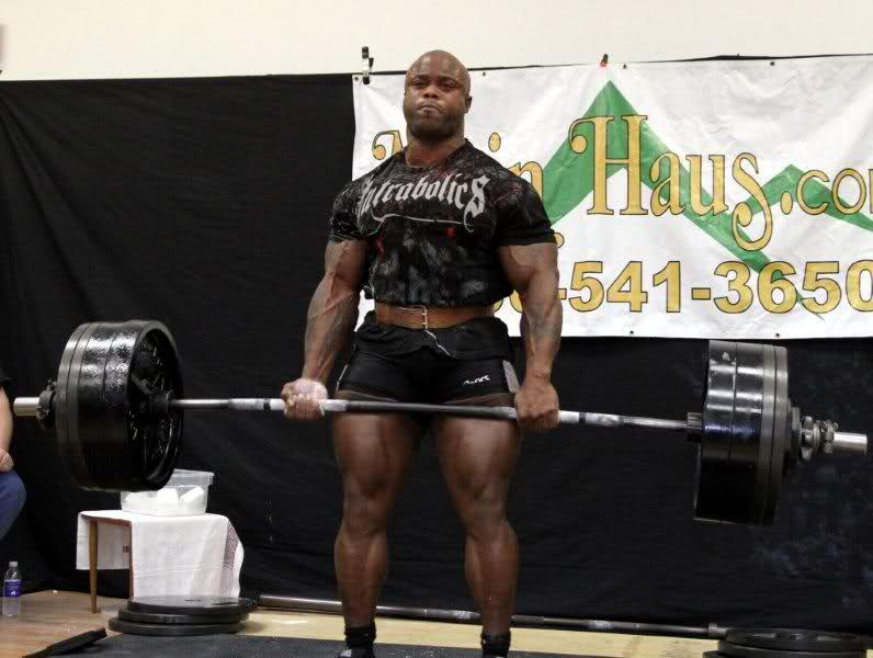 Ben White - 700 lbs deadlift