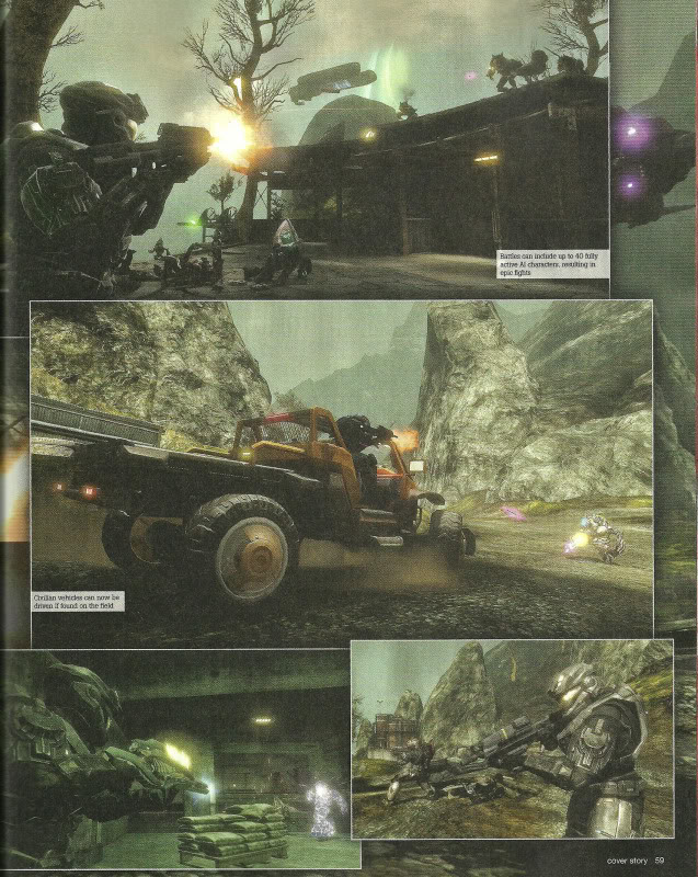 Halo Reach In-Game Engine Cinematic