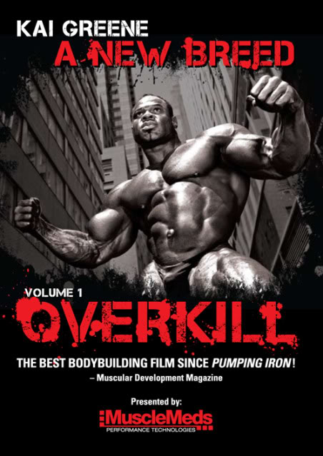 Kai Greene OVERKILL - a bodybuilding documentary by Mike Pulcinella