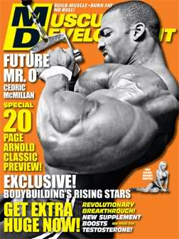 March 2010 MD cover - Cedric McMillan