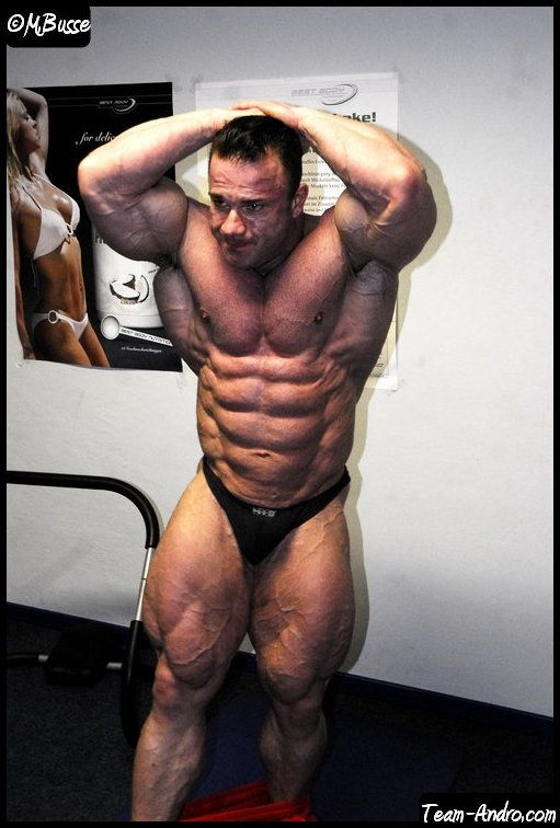 Ronny Rockel 2 weeks out from the Arnold