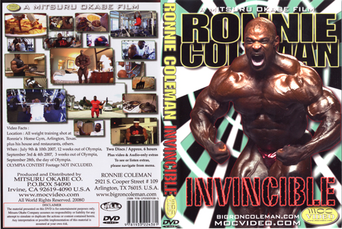 Ronnie Coleman The Cost of Redemption & Ronnie Coleman Invincible