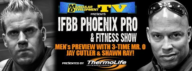 Phoenix Pro Preview with Shawn Ray and Jay Cutler