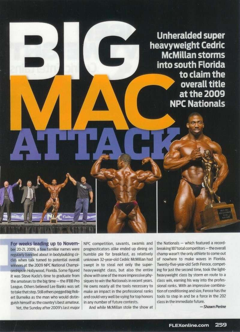Cedric McMillan scans!