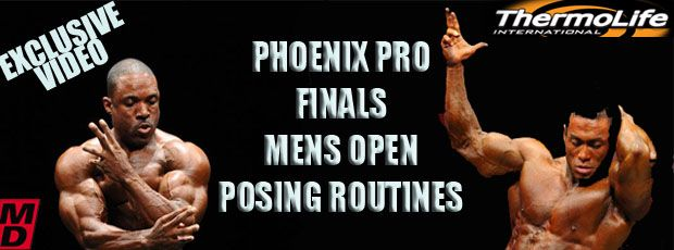 Posing routines from the 2010 Phoenix Pro!