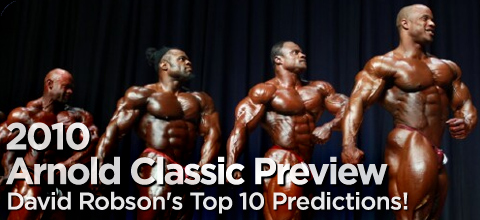 2010 Arnold Classic official competitors list