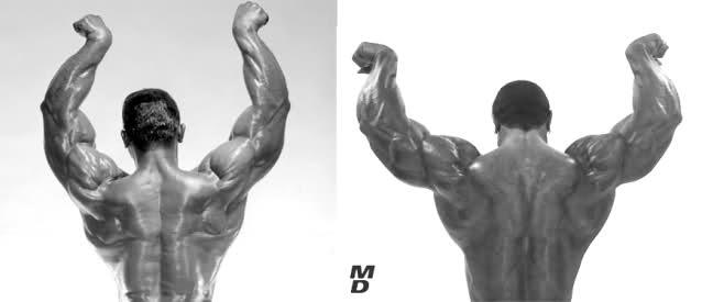 Sergio Oliva senior vs...