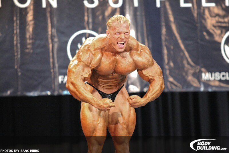 Dennis Wolf guest posing at the 2010 NPC Top Form Classic