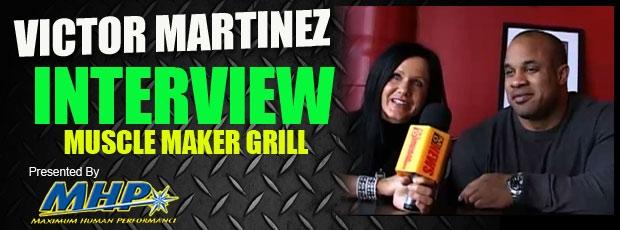 Victor Martinez Restaurant Interview