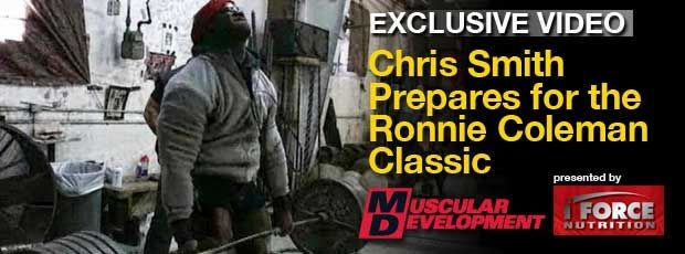Chris Smith Preps for the Ronnie Coleman Classic