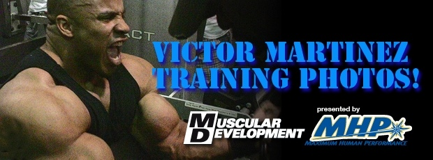 New Victor Martinez Training Pics