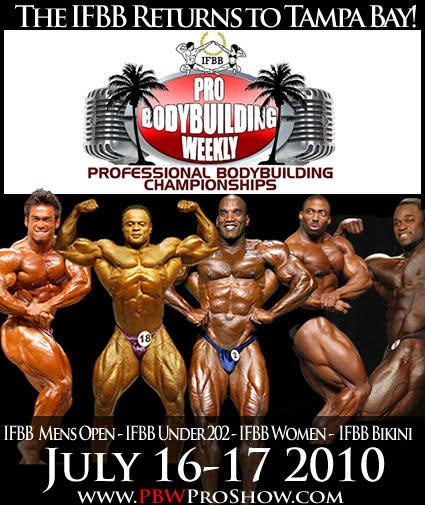 2010 IFBB Tampa Pro - info & updates