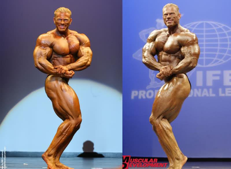 Dennis Wolf 2007 vs 2010 [New York Pro]