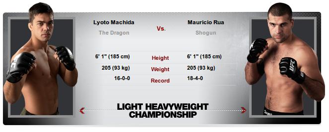 MACHIDA vs SHOGUN 2 - UFC 113