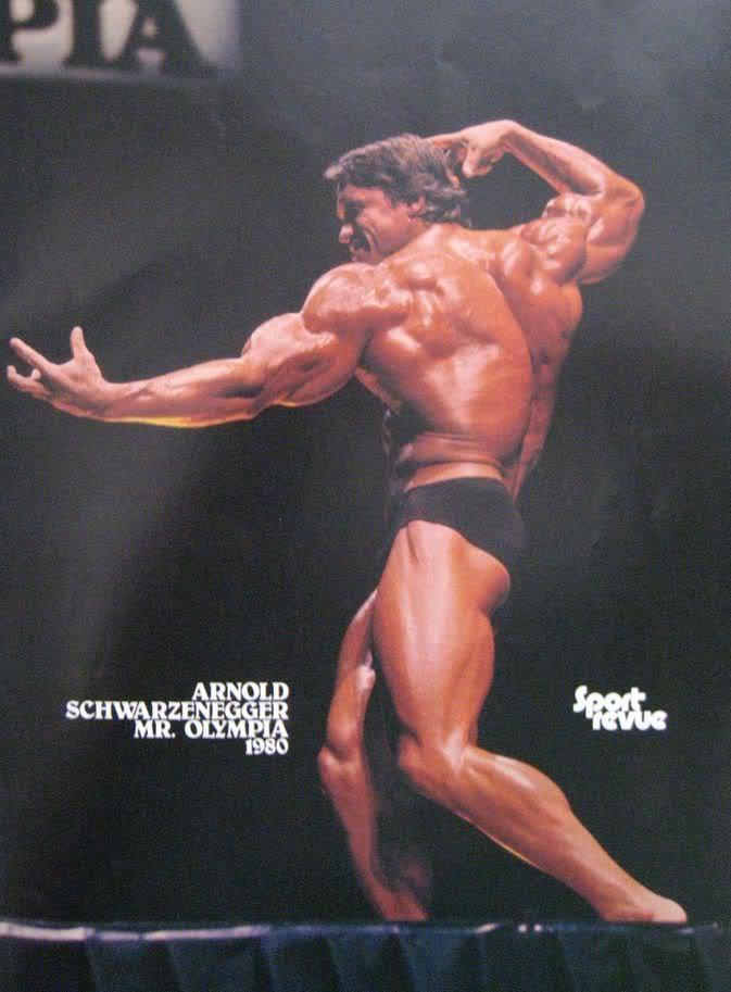 Arnold Schwarzenegger - 1980 Mr Olympia (rare vid)
