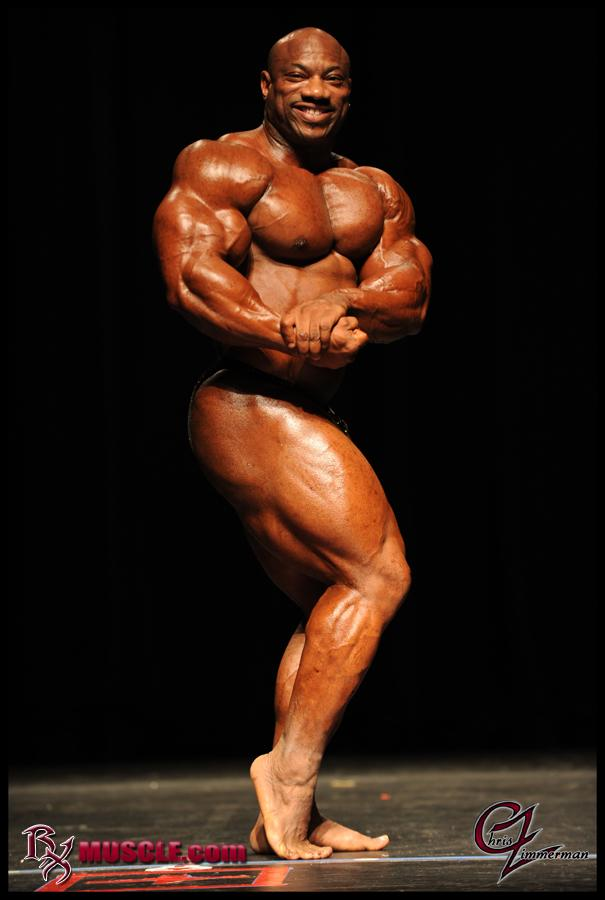 Dexter Jackson Guest Posing at the Philly Classic