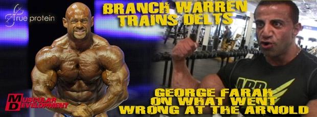 Branch Warren trains delts