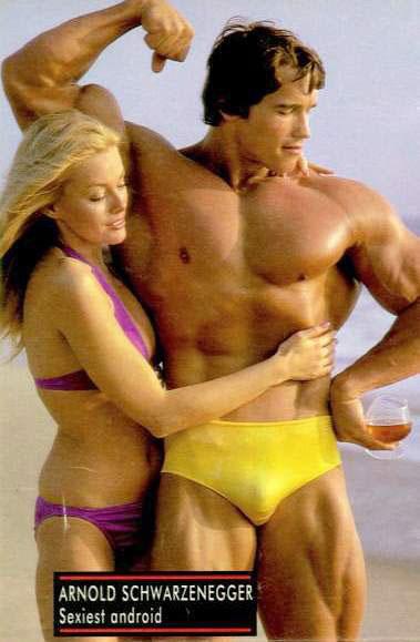 Arnold Schwarzenegger photo I've never seen before!