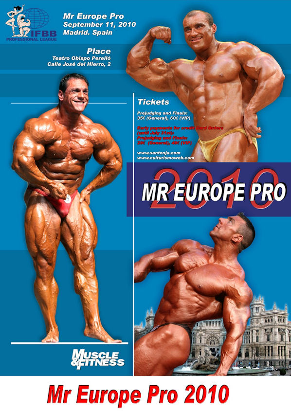 """Dennis James 9 weeks out from the """"Mr Europe Pro"""" in Spain"""