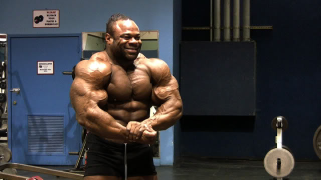 Pic of Kai Greene 13 weeks out