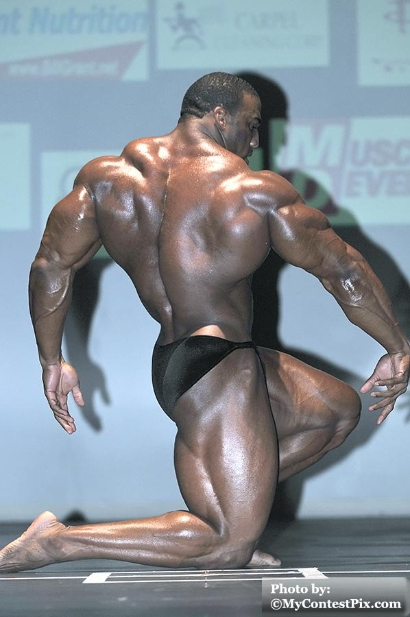 Cedric McMillan guest posing 1 week after the 2010 ESS