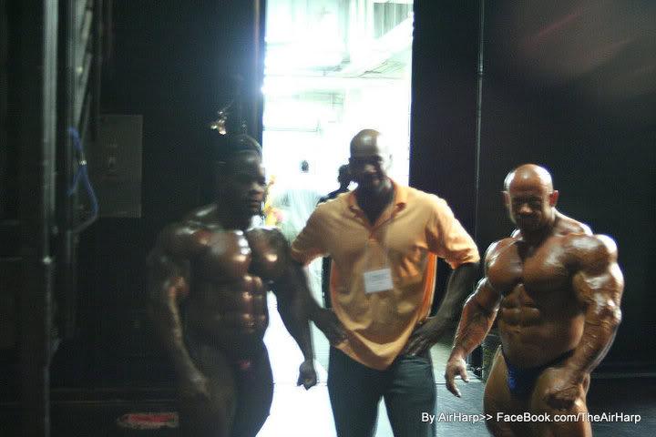 Kai Greene, Johnnie Jackson and Branch Warren at NPC Coastal