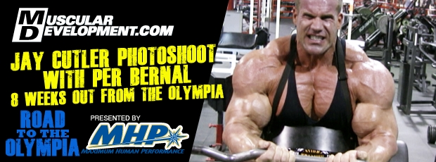 Road to the Olympia: Jay Cutler Photoshoot