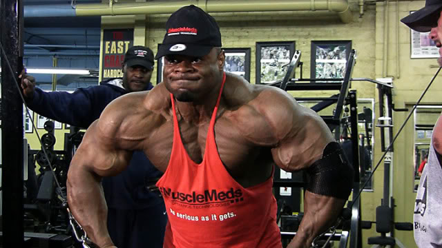 Worlds collide as Kai Greene and Rodney Roller train together at Powerhouse Gym!
