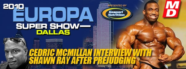 2010 IFBB Europa Super Show - Dallas TEXAS *updates*