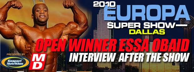 2010 IFBB Europa Super Show - Dallas TEXAS *updates*
