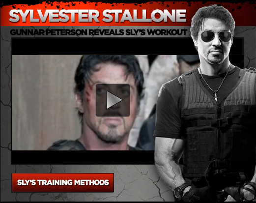 Sylvester Stallone on the cover of M & F - October 2010