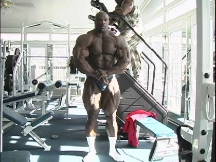 Ronnie Coleman rare vids: 1998 and 2001
