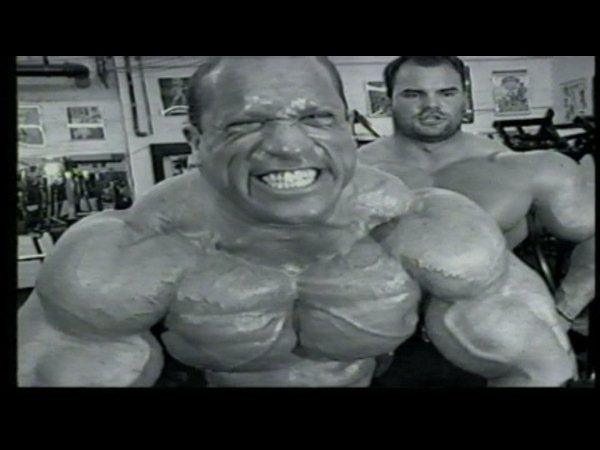 Dave Palumbo and Jimmy the Bull Pellechia Train Back back in 1997