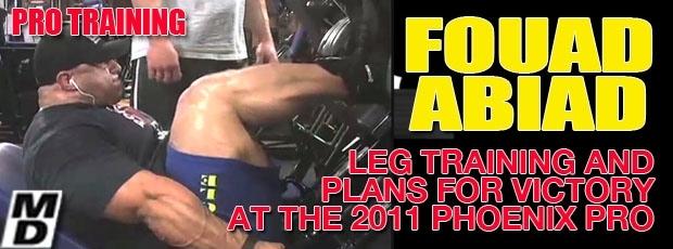 Fouad Abiad - Leg workout