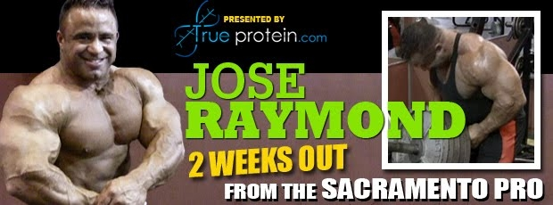ose Raymond Trains Back: 2 Weeks Out from the Sacramento Pro
