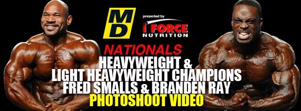 Fred Smalls and Brandon Ray Photo shoot