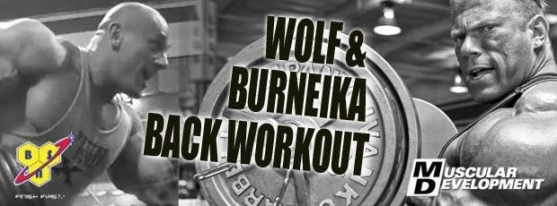 Dennis Wolf and Robert Burneika Back Workout
