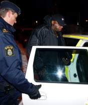 Toney Freeman arrested during DVD signing in Sweden