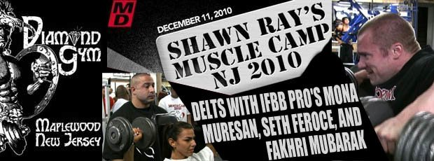Shawn Ray?s muscle camp NJ 2010