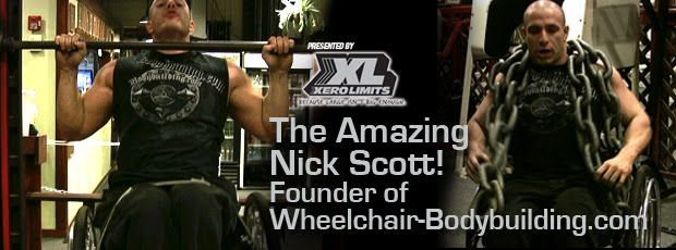 Nick Scott: Founder of Wheel-Chair Bodybuilding.com