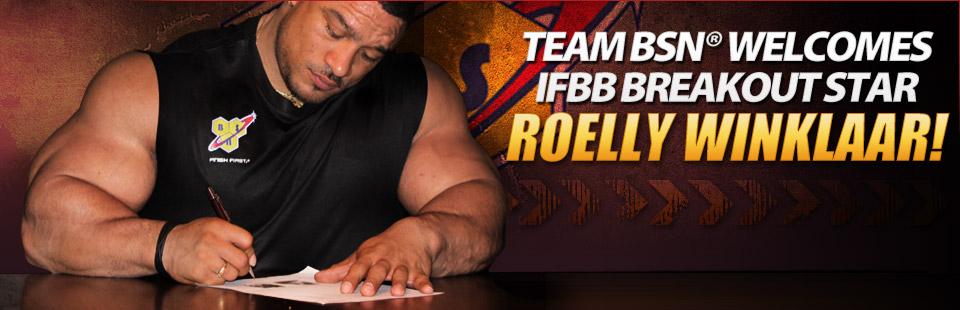 Roelly signs with BSN !!!