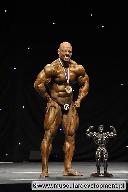 The 202 of the Olympia this year comes to an unbelievable level!