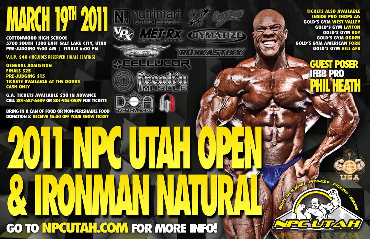 Phil Heath (Update) guestposing in Utah saturday (March 19th)
